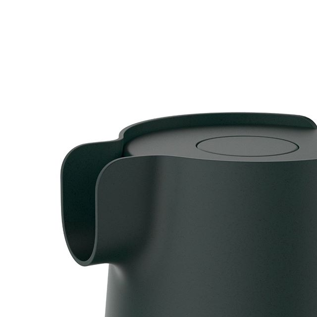 Kettle . #industrialdesign #productdesign #design #kitchen #kitchenware #kettle #electrickettle #appliances  #bioplastic #composite #minimalism #zoom #green