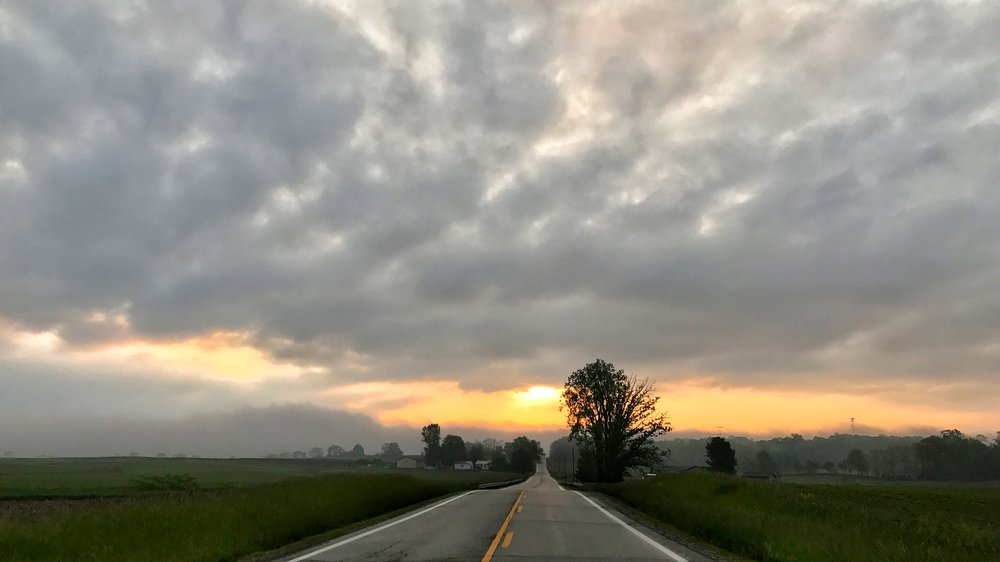 iPhone shot on a cloudy day in Ohio