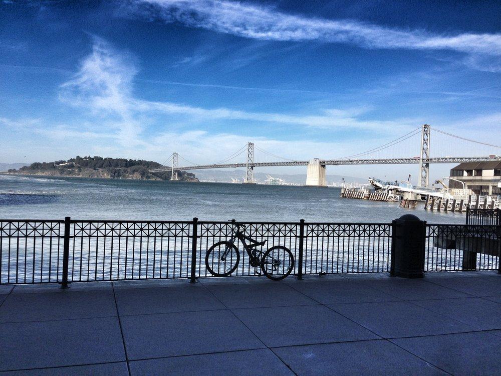 San Francisco .. The Bay Brdge May 15, 2013