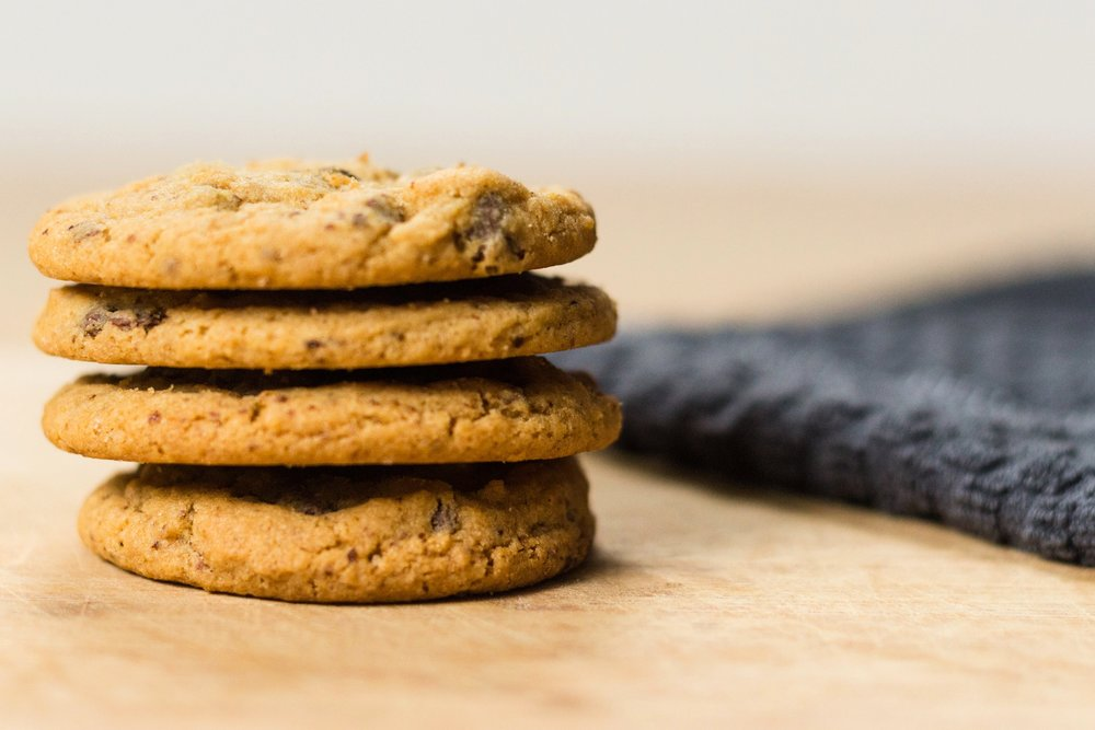 real cookies made with real ingredients - Life is short, enjoy every bite