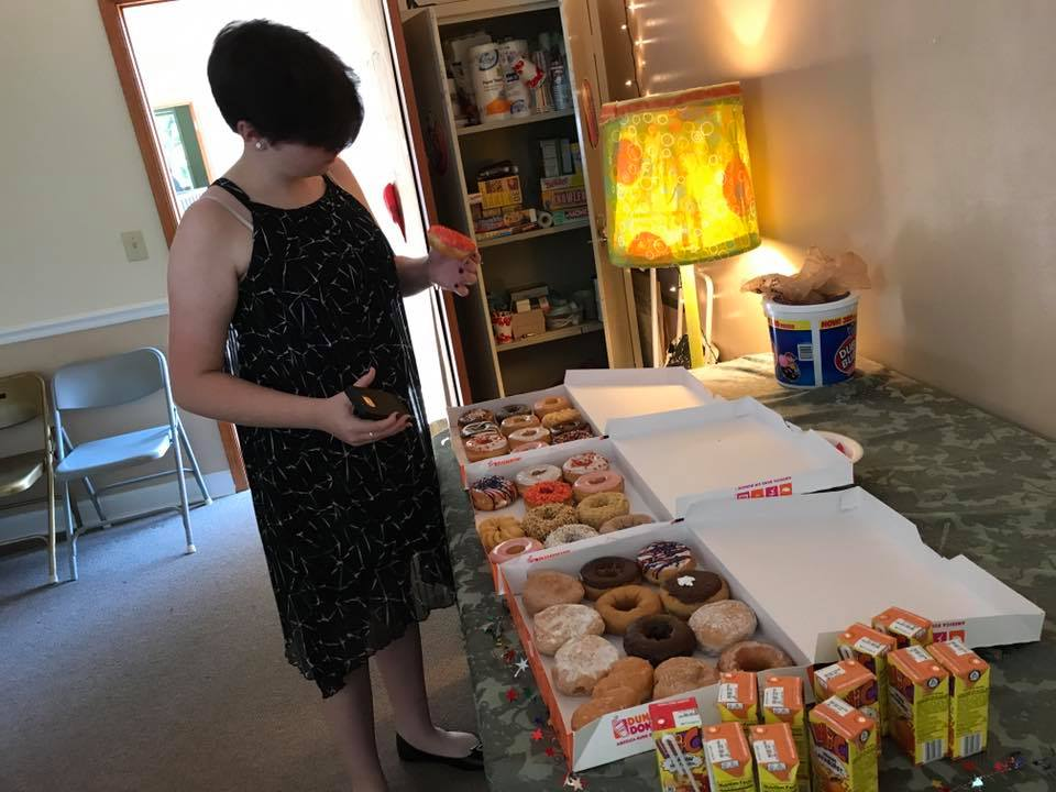 Like many Methodists, CJ enjoys pairing her worship time with sugar