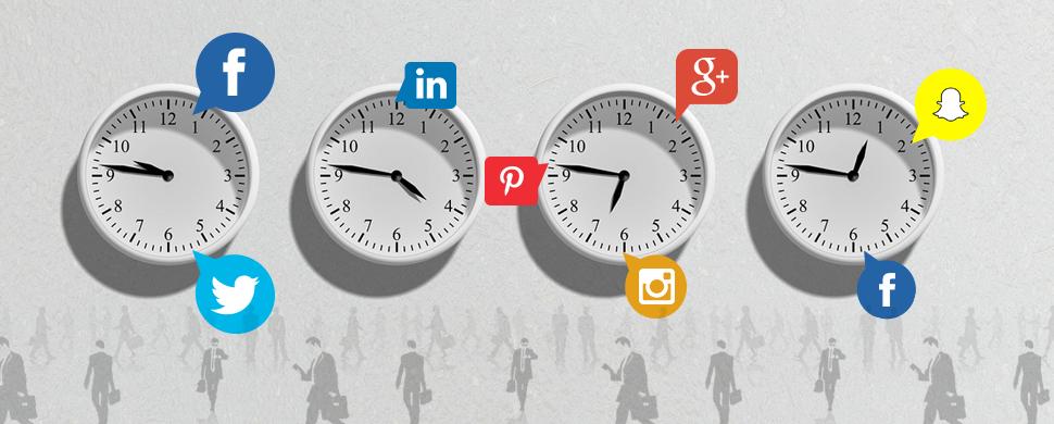 Timing in Social Media