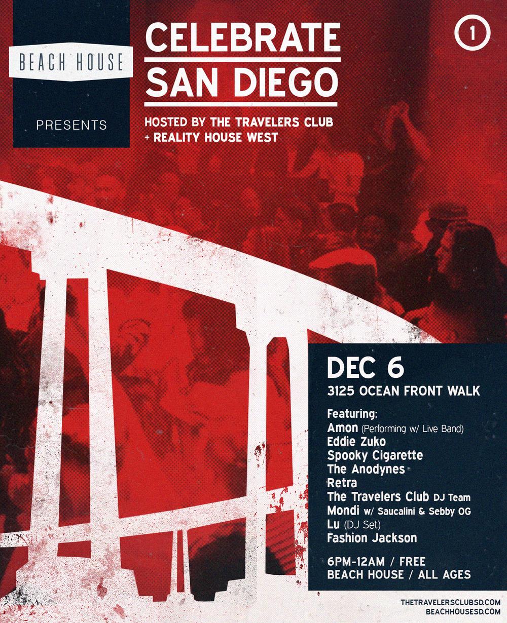 Celebrate San Diego, sponsored by Red Bull