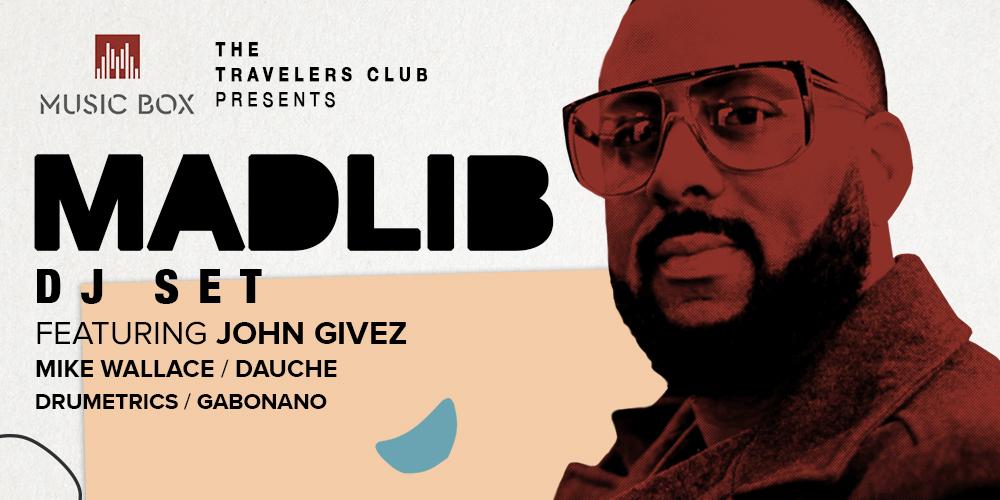 Madlib live in San Diego