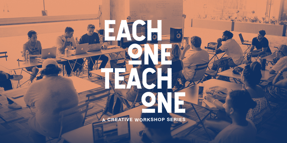 ANNOUNCING: Each One Teach One Workshop series returns for Summer ...
