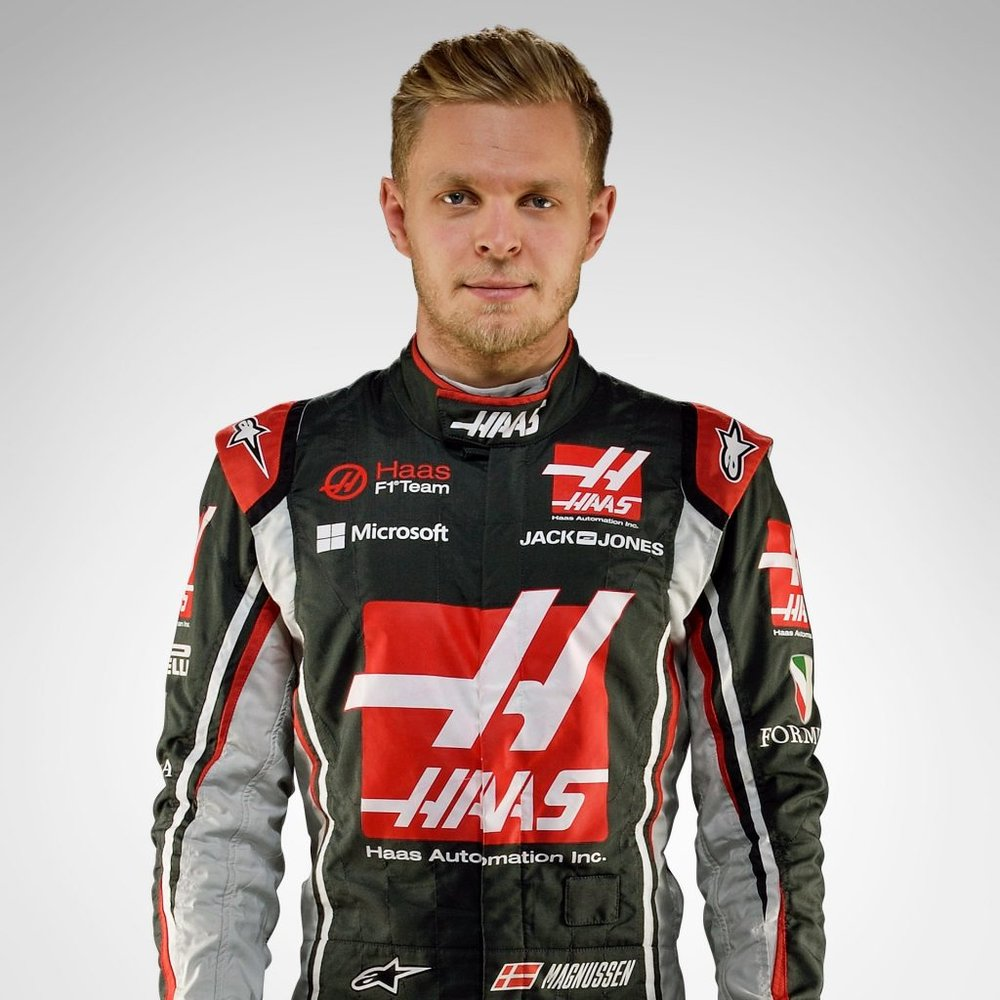 KEVIN MAGNUSSEN'S SALARY IS... -