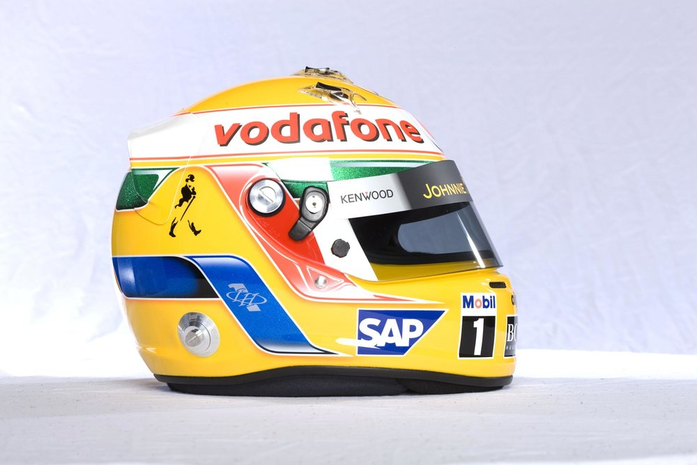 Lewis Hamilton 2008-2012 Helmet