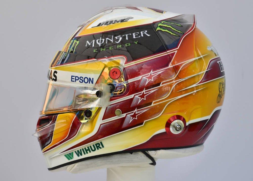 Lewis Hamilton Helmet 2017