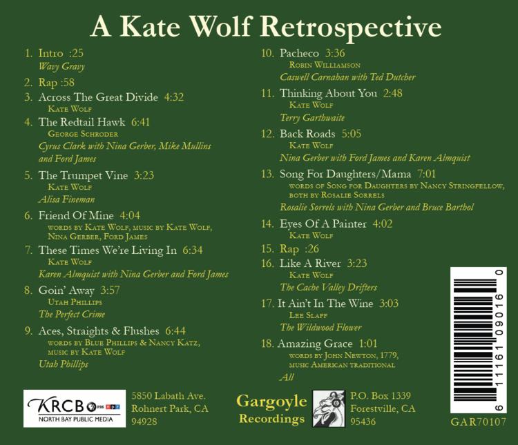 Lyric lyrics to wildwood flower : A Kate Wolf Retrospective — Official Kate Wolf Website