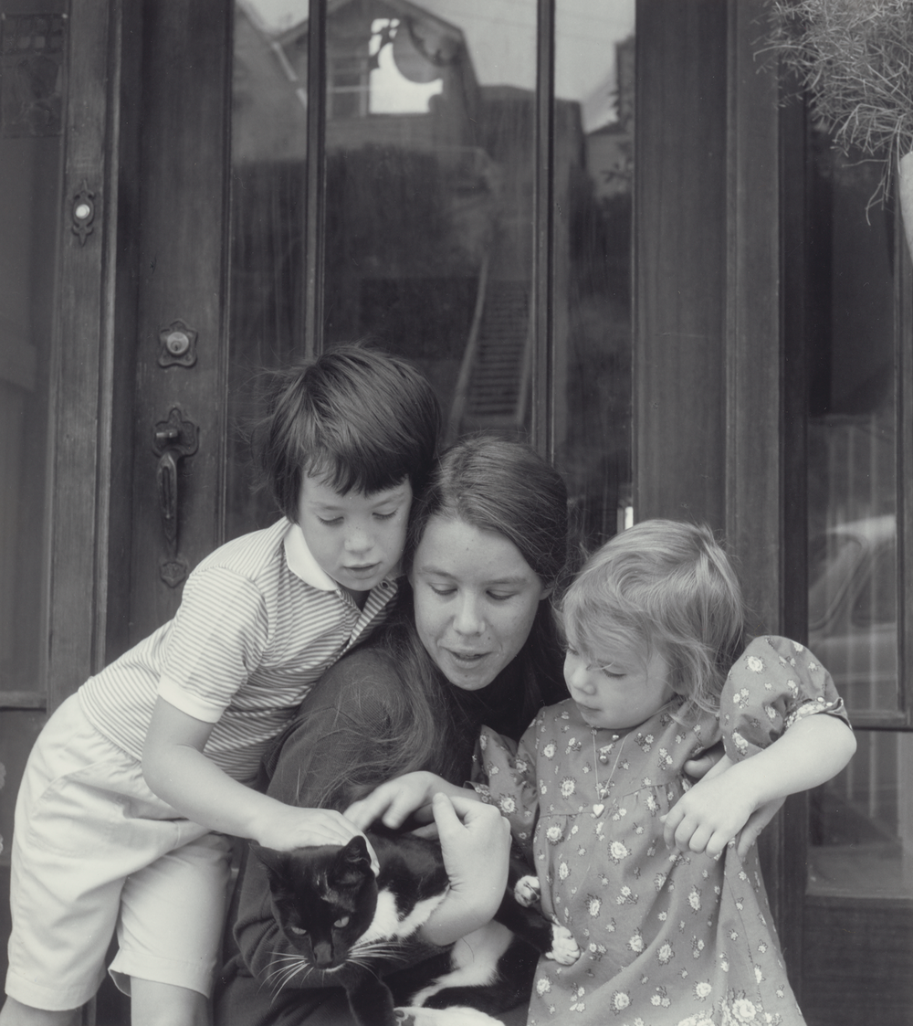 Kate Max Hannah Cat circa 1969.png
