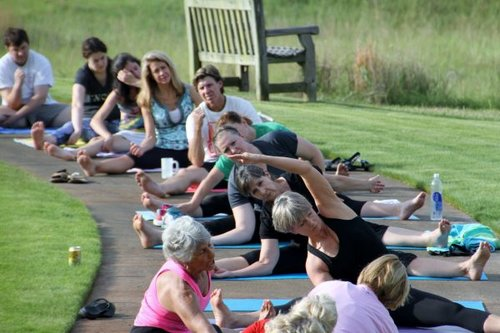Yoga on the Green - Every Saturday Morning 7:00am