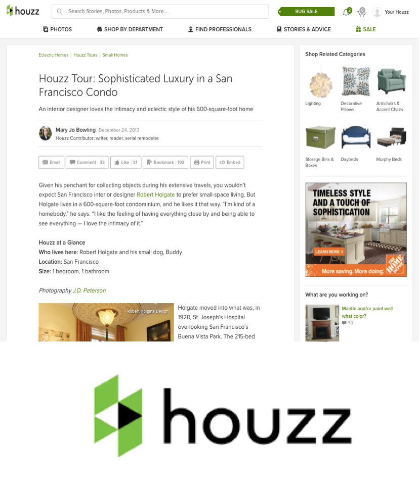 """Houzz Tour: Sophisticated Luxury in a San Francisco Condo"""
