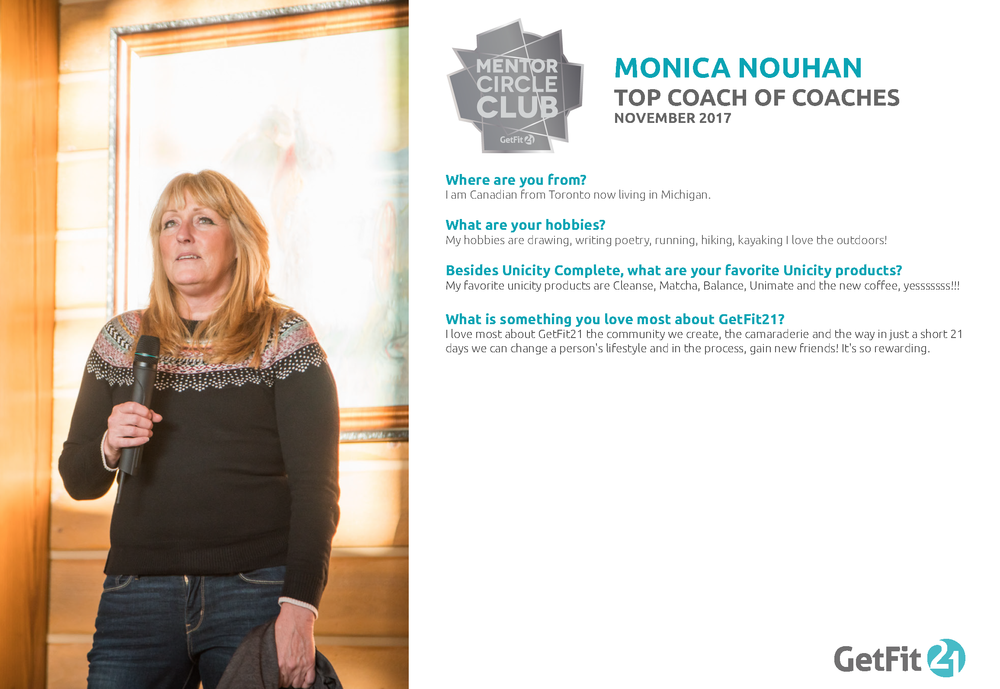 Monica - Coach of Coaches