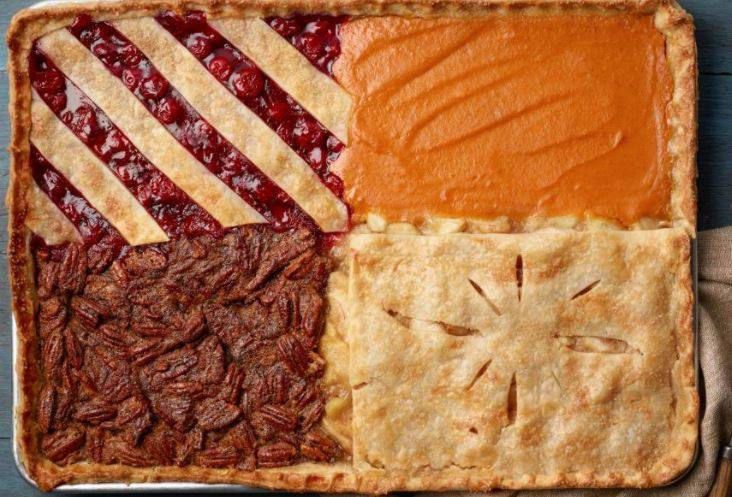 Four-Flavor Sheet Pan Pie - Pie Fun!!