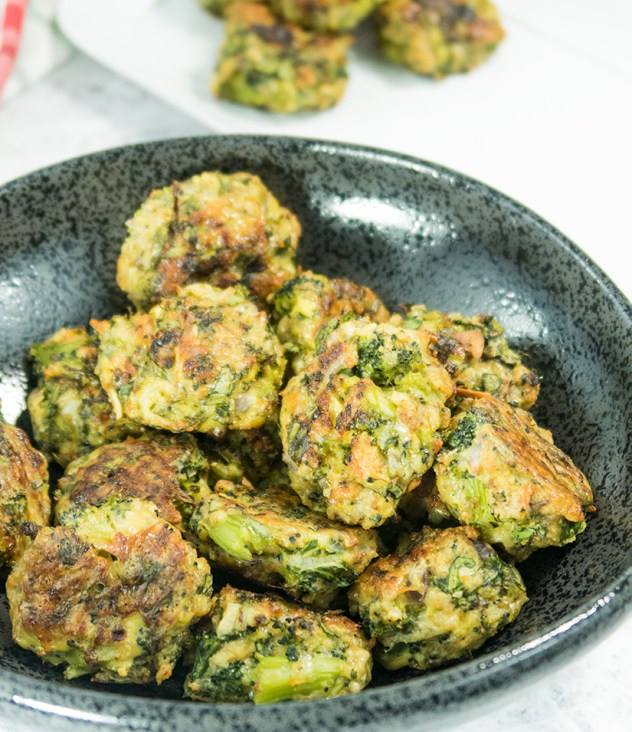 Broccoli Parmesan Spinach Bites -