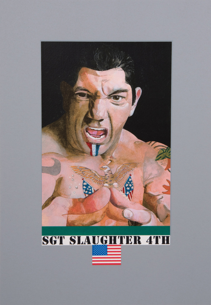 Sgt Slaughter 4th