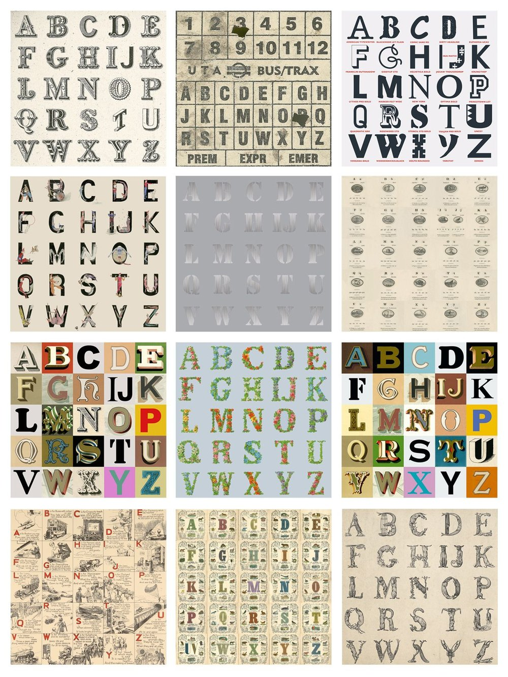 Appropriated Alphabets