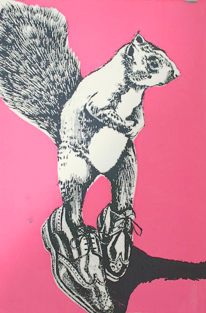 Big Pink Squirrel