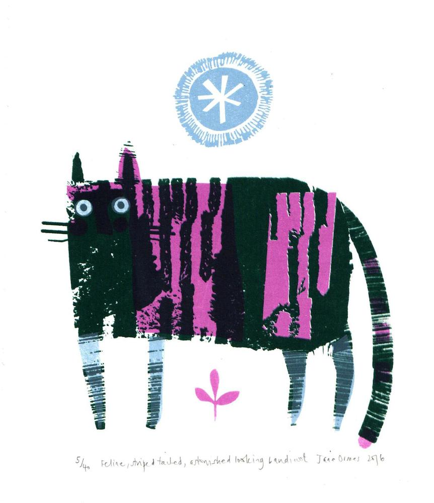 Rostra Gallery. Jane Ormes. Feline, Astonished Looking Bandicoot.jpg