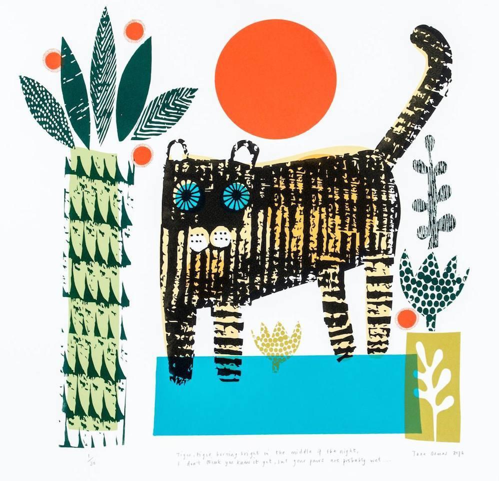 Rostra Gallery. Jane Ormes. Tiger, Tiger.jpg
