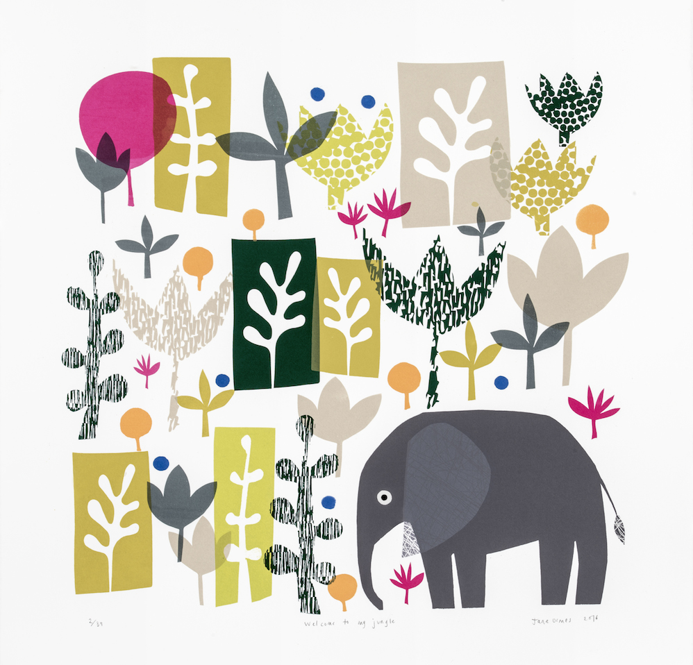 Rostra Gallery. Jane Ormes.Welcome to my Jungle.jpg