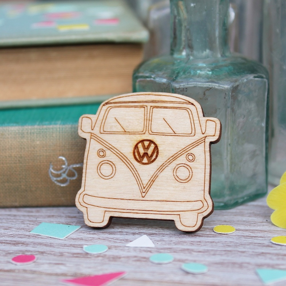 Campervan Brooch