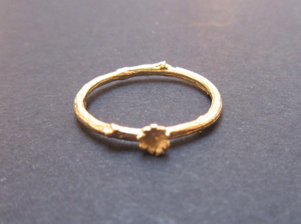 Gold Briar Ring