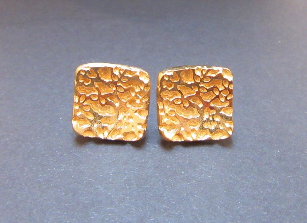 Gold Regal Studs