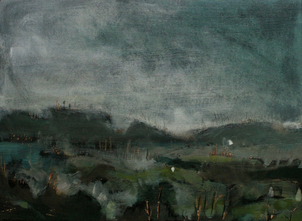 Chloe Yandell, Landscape in Green
