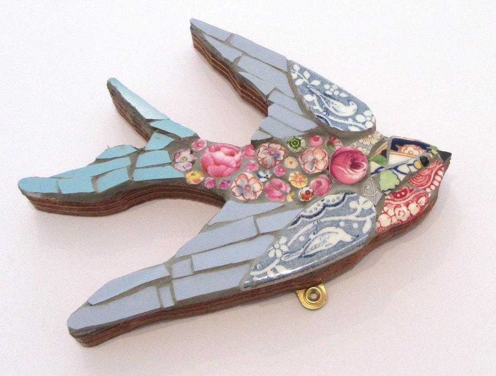 Mosaic Swallow Pink
