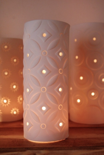 Ceramic Candle Covers