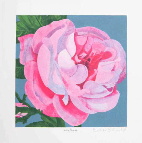 Peter Blake | Rose is a Rose is a Rose Part of a set of three | £2950 for set