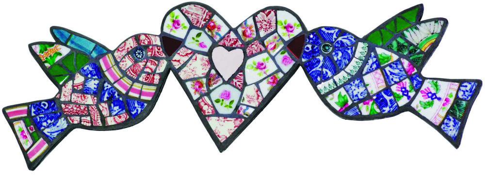 Adele Zaslawska | Heart & Birds | £195