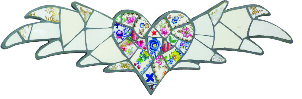 Adele Zaslawska | Flying Heart | £195