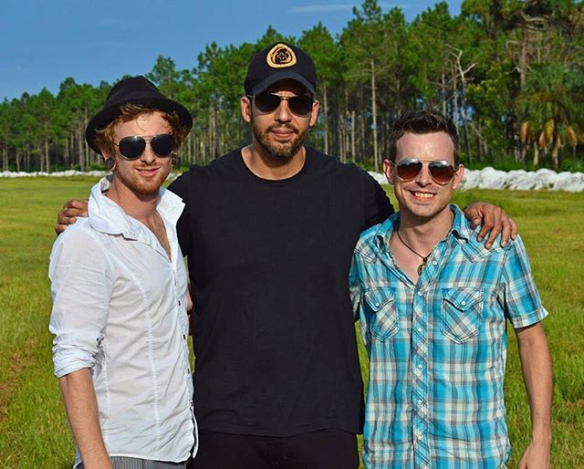 Tyler and Carl with the one and only @davidblaine • • • #20Penny #20Pennycircus #sideshow #circus #swordswallower #comedy #contemporaryclowns #questionabletaste #clownsighting #Clowning #Clown #varietyperformer #varietyact #Bulletcatch #Orlando #HumanPincusion