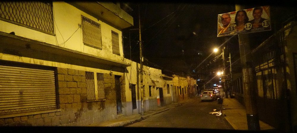 """El Chile"", one of Tegucigalpa's most dangerous neighbourhoods."