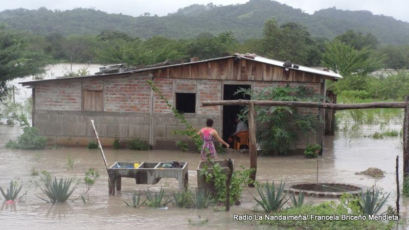 Nandaime, Nicaragua - Homes throughout the region experienced significant flooding after a particularly heavy rainy season and the passing of Hurricane Nate. Credit: Radio La Nandaimeña, Francela Briceño Mendieta
