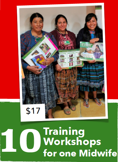 Traditional Indigenous Midwives attend 69% of all births in Totonicapán, Guatemala. That's why the MNCH project is providing them training workshops in maternal and child care best practices so they can update their skills to provide better and safer care for mothers and children.