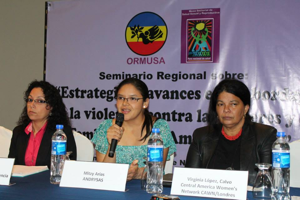 ORMUSA hosted several women's organizations in an exchange to discuss strategies for raising awareness and preventing violence against women in Latin America.