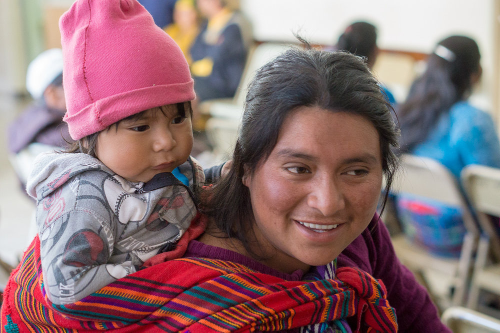 The MNCH project aims to not only improve the health and wellbeing of pregnant women and new mothers but also their children. In the first 18-months of the project, Horizons and PIES have already reached 70,000 women, men and children in Totonicapán.