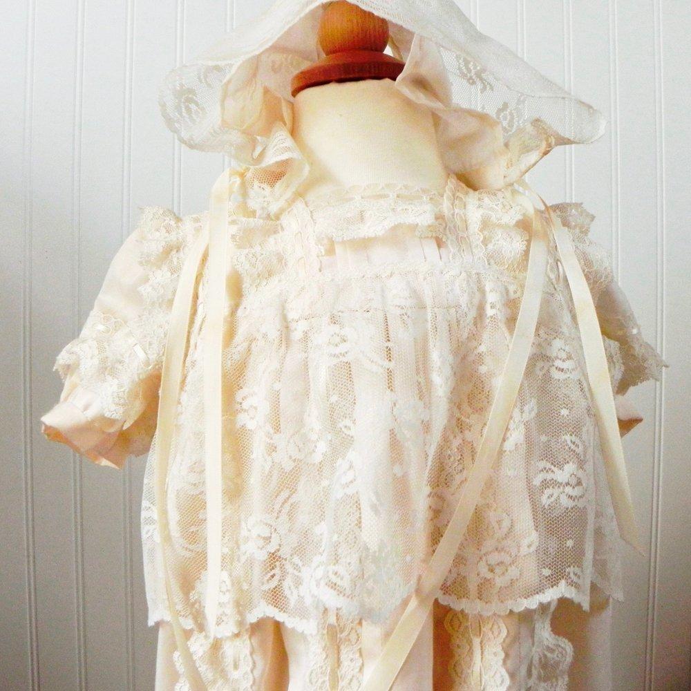 My daughters' baptism dress.