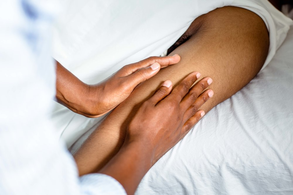 Manual Lymphatic Drainage (MLD) is one component of Complete Decongestive Therapy (CDT).