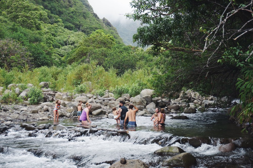iao valley swimming