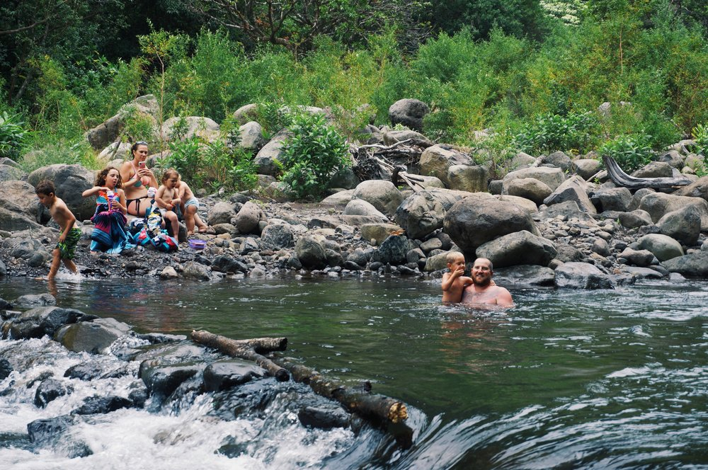 iao valley state park swimming hole