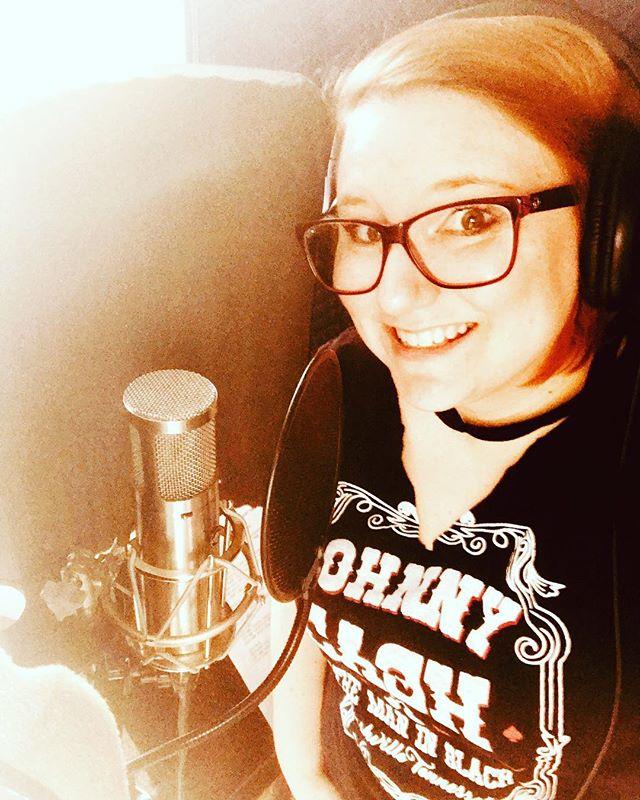 Amanda Jo singing vocals! #musicmonday