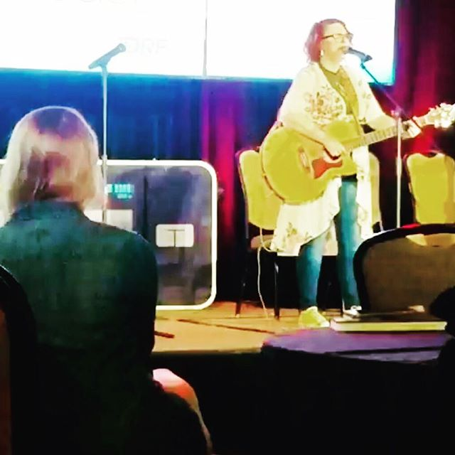 Truckstop Honey's own @amandajocountry performing at the @studentswithdiabetes conference this weekend in Tampa