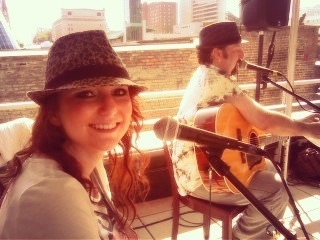 #TBT Playing at our first @cma fest in #nashville 😀 #countrymusic #cmafest #cma #truckstophoney
