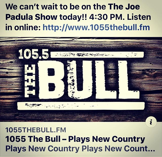 Looking forward to being on the @joepadula show today!! Make sure you tune in!