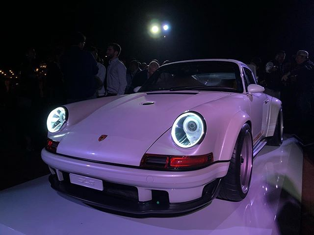 @singervehicledesign Great party. Thank you for having us.