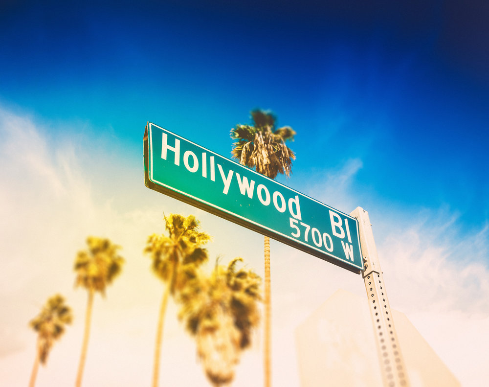 Hollywood Boulevard - A must see for anyone in the City of Angels